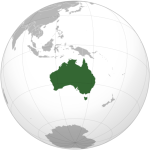 Australia_orthographic_projection